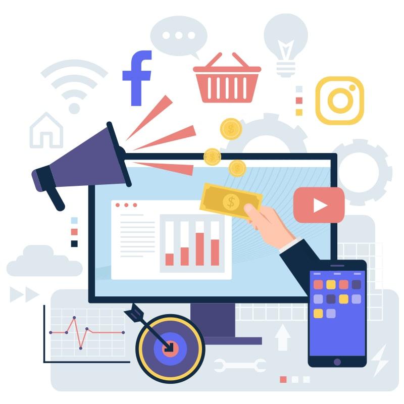 social media marketing - produse