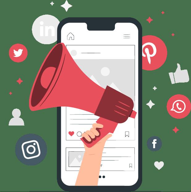 social media marketing web - campanii