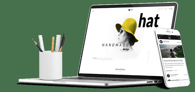 web design - creare site prezentare resposive